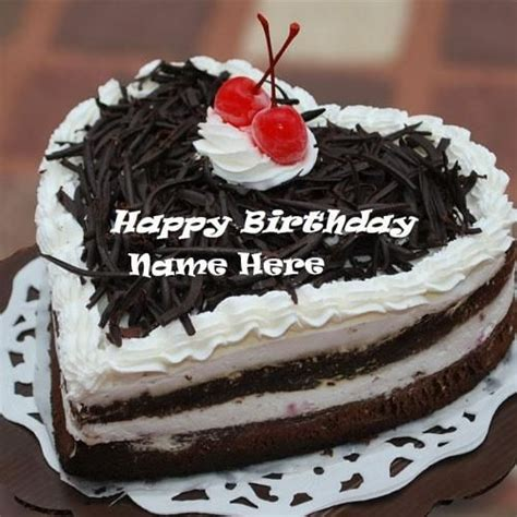 Personalized Birthday Cake Images Shaped Chocolate Birthday Cake Pictures With Name