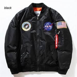 Flight Pilot Jacket Coat Bomber Ma1 Men Bomber Jackets ...