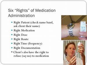 medication administration ppt download With 6 rights of medication