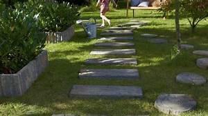 Créer Son Jardin : cr er un chemin dans son jardin les bonnes id es de ~ Mglfilm.com Idées de Décoration