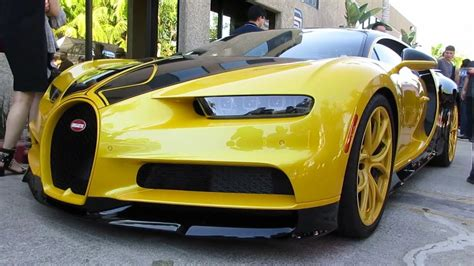yellow bugatti black and yellow bugatti chiron quot hellbee quot youtube