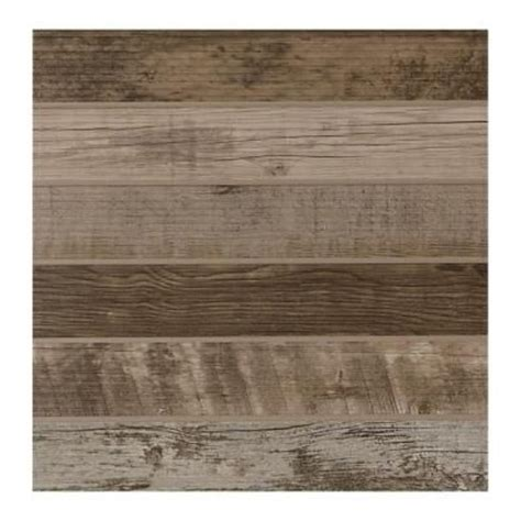 wood grain ceramic tile home depot daltile modern outdoor living weathered wood 18 in x 18 in glazed porcelain floor and wall