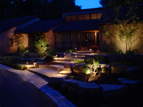 landscape lighting heath professional landscaping