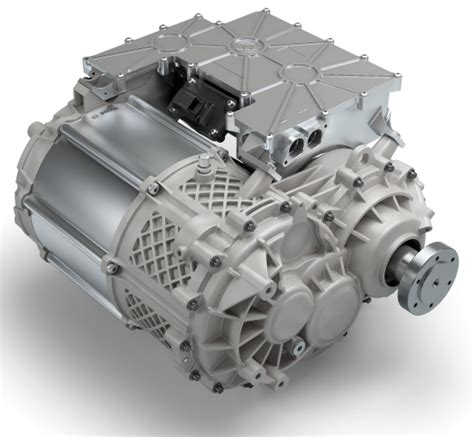 Electric Motor System by New Bosch E Axle Integrates Motor Power Electronics