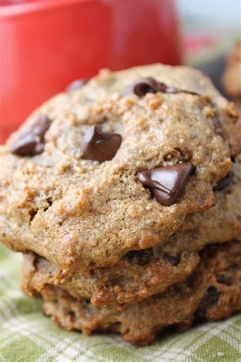 flourless date sweetened chocolate chip cookies tessa