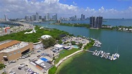 Stock Video Clip of Aerial video of Parrot Jungle Island ...