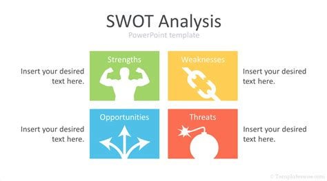 swot analysis powerpoint template templateswisecom