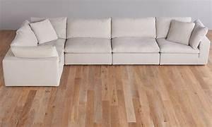 luxe modular slipcover sectional haynes furniture With modular sectional sofa covers