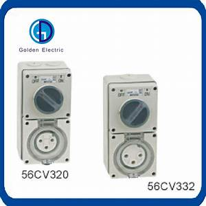 China Australia Industrial Plug And Socket Ip66 10a 20a