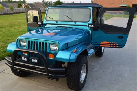 New Jeep Wrangler Engine by 1991 Jeep Wrangler Islander Restored New Paint New