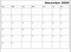 October 2029 Blank Calendar Pages