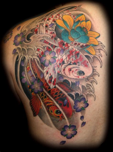 koi tattoo color meaning image koi fish tattoos meaning