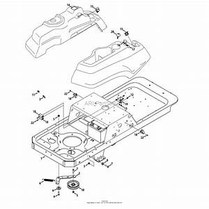 Mtd 17af2ack099  247 25061   Ztl8000   2014  Parts Diagram