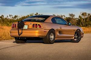 Kurtis Forsberg's Aztec Gold SN95 Mustang GT was Built to Be a 7-Second True Street Contender!
