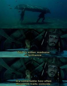 Pirates Of The ... Madness And Brilliance Quotes