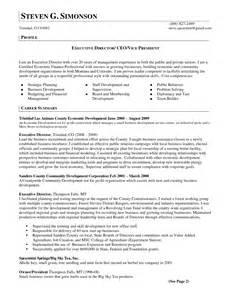 community development manager resume resume president of organization
