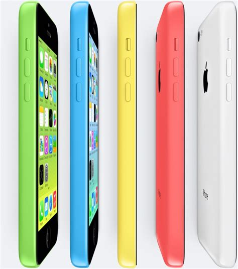 iphone 5c apple apple announces the multicolor iphone 5c 99 for 16gb