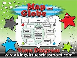 Map Skills  Map And Globe Venn Diagram