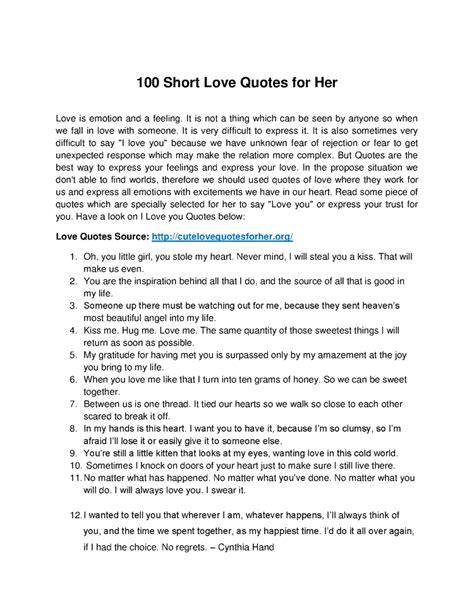 top  short love quotes   authorstream