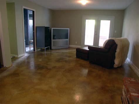 Basement Floors   ConcreteIDEAS