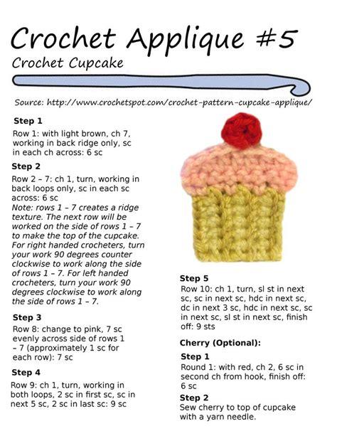 appliques cuisine 193 best images about crochet appliqués on