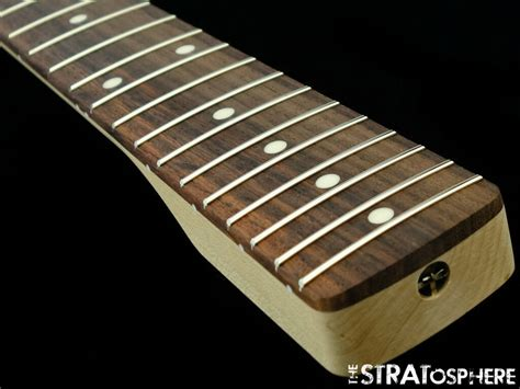 fender lic fat chunky rosewood strat neck stratocaster