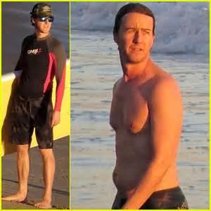 Edward Norton: Shirtless Sunset Ocean Swim! | Edward ...