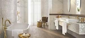 Faience Blanche Salle De Bain : fa ence salle de bains d clin e en 40 photos pour s 39 inspirer ~ Dailycaller-alerts.com Idées de Décoration