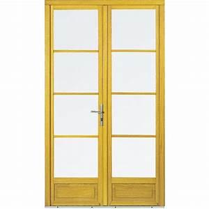 Porte fenetre bois limba gamme agilite a 1 vantail for Porte fenetre 1 vantail pvc