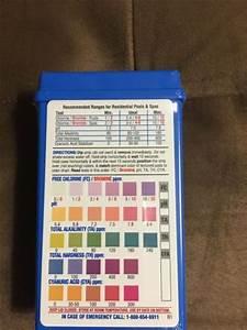 Hth Test Chart Hth Multi Purpose 6 Way Test Strips Swimming Pool Pool