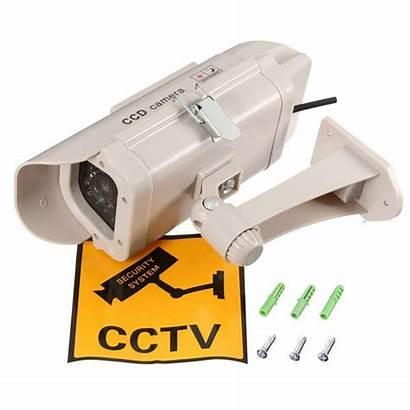 Camera Security Fake Cctv Led Solar Blinking