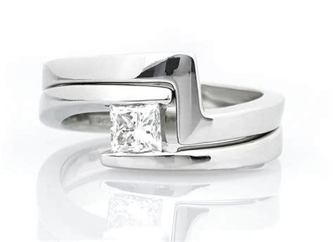 square shaped wedding rings custom shaped rings