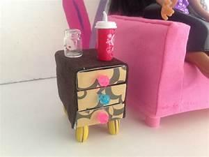 Bricolage A Faire Avec Des Petit : comment faire une table de chevet pour maison de poup e ~ Melissatoandfro.com Idées de Décoration