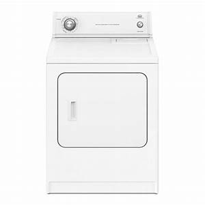 Roper 6 5 Cu Ft Electric Dryer  White  At Lowes Com