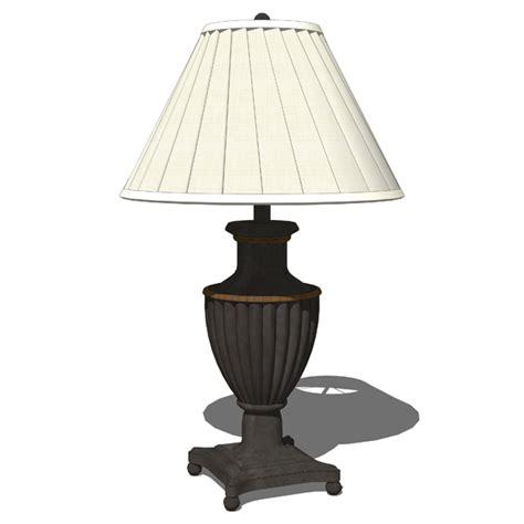 Traditional Table Lamps 3d Model  Formfonts 3d Models