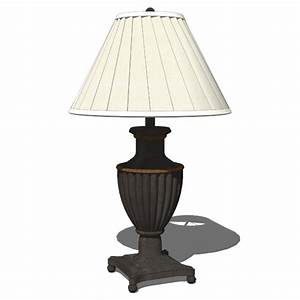 Traditional Table Lamps 3D Model - FormFonts 3D Models ...