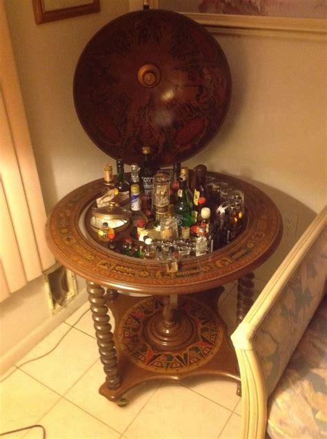 details  globe wine bar antique home world liquor