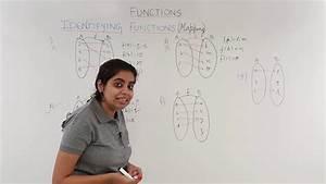 Identifying Function Arrow Diagram