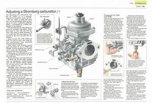 R U00e9glage D U0026 39 Un Carburateur Stromberg