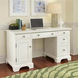 shop home styles naples white computer desk at lowescom With kitchen cabinets lowes with where can i get my registration sticker