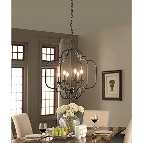 modern farmhouse chandelier suitable  dining rooms