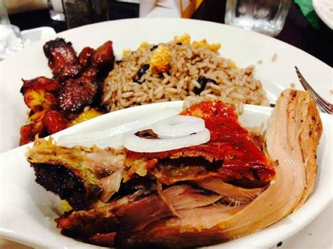 ranch pork roast roast pork with fried plantains picture of molina s ranch restaurant hialeah tripadvisor