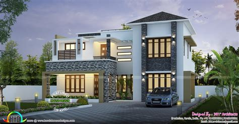 2403 Sq-ft Modern Contemporary Home
