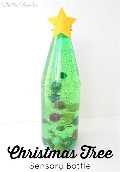 discovery christmas tree tree sensory calm discovery bottle play activities for