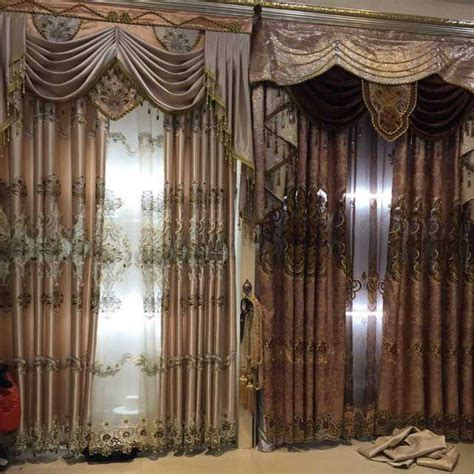 2015 embroider lace magnetic curtain magnet curtain