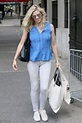 Lindsay Shookus spotted smiling while out in New York City ...