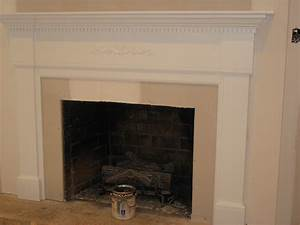 FIREPLACE: Beautiful White Fireplace Mantels With Interior