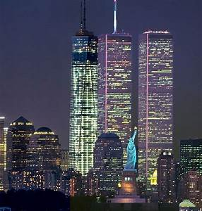 New york one world trade center 178739 pinnacle for How many floors twin towers