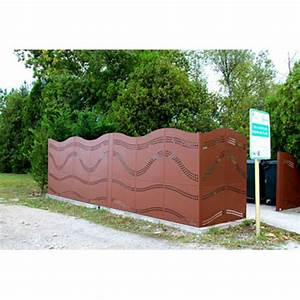 Brise Vue Design : cache conteneurs et brise vue design en acier tmi ~ Farleysfitness.com Idées de Décoration