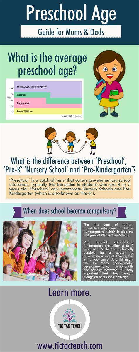 preschool infographics collection tictacteach 560 | Preschool Age 1